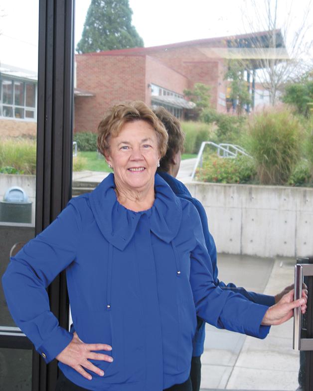 Jill Rouw, Skagit Valley College Foundation Supporter