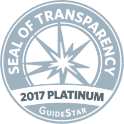 GuideStar 2017 Platinum Seal of Transparency